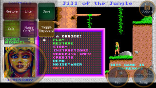 Jill of the Jungle on Android